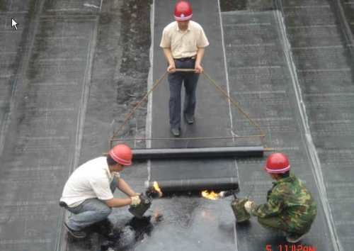 楼顶防水之填缝剂的使用方法